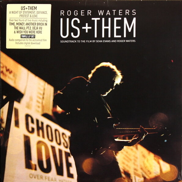 WATERS ROGER. Us + Them (3 Винил)