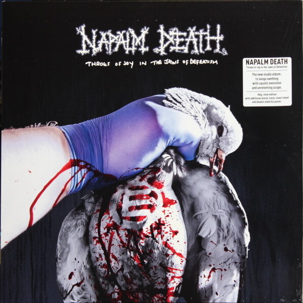 NAPALM DEATH. Throes Of Joy In The Jaws Of Defeatism (Винил)