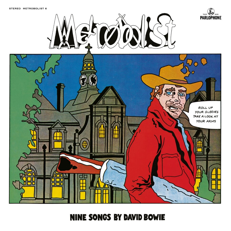 BOWIE DAVID. Metrobolist (aka The Man Who Sold The World) (Винил)