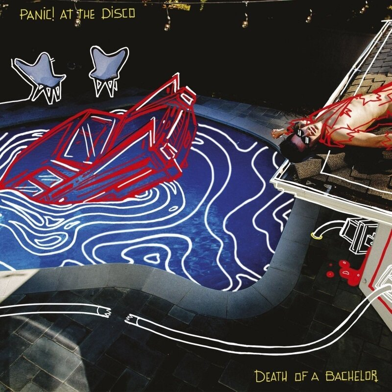 PANIC! AT THE DISCO. Death Of A Bachelor (Silver Vinyl) (Винил)