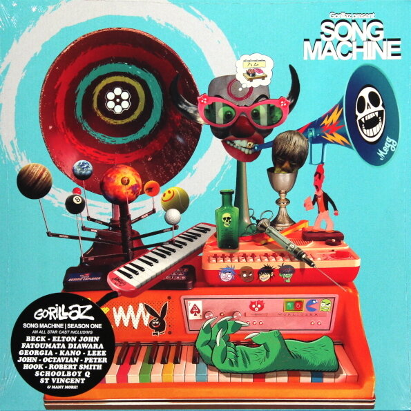 GORILLAZ. Gorillaz Presents Song Machine. Season 1 (Винил)